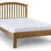 olivia-bed-oak-finish-135cm-plain